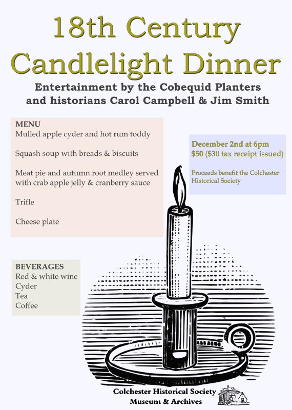 18th Century Candlelight Dinner