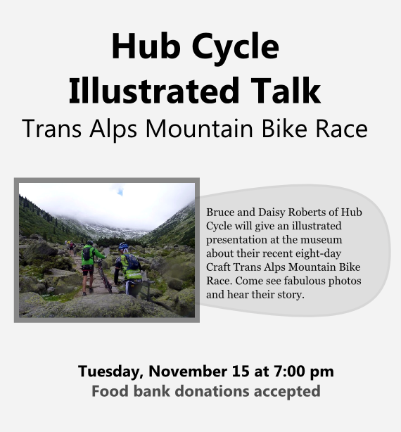 Hub Cycle at the Trans Alps Mountain Bike Race