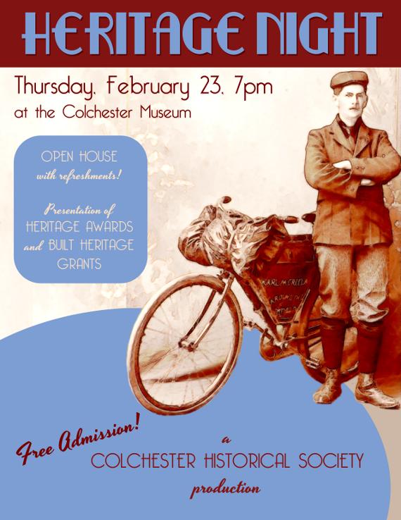 Annual Heritage Night on February 23
