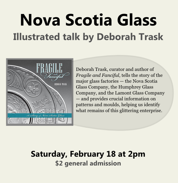 Talk: Nova Scotia Glass by Deborah Trask