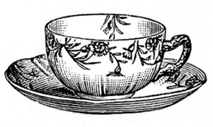 Tea in the Garden Wednesdays August 26, 1pm-3pm