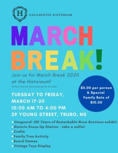 Cancelled: March Break 2020